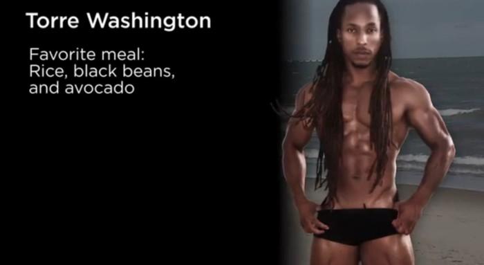 body builder vegani